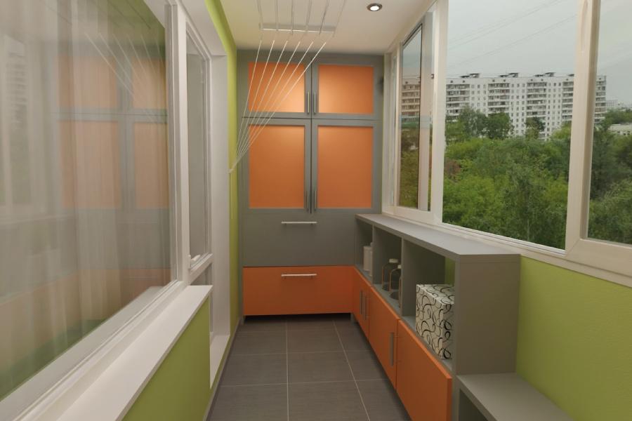 Как красиво сделать шкаф на балкон (лоджию) своими руками: и.